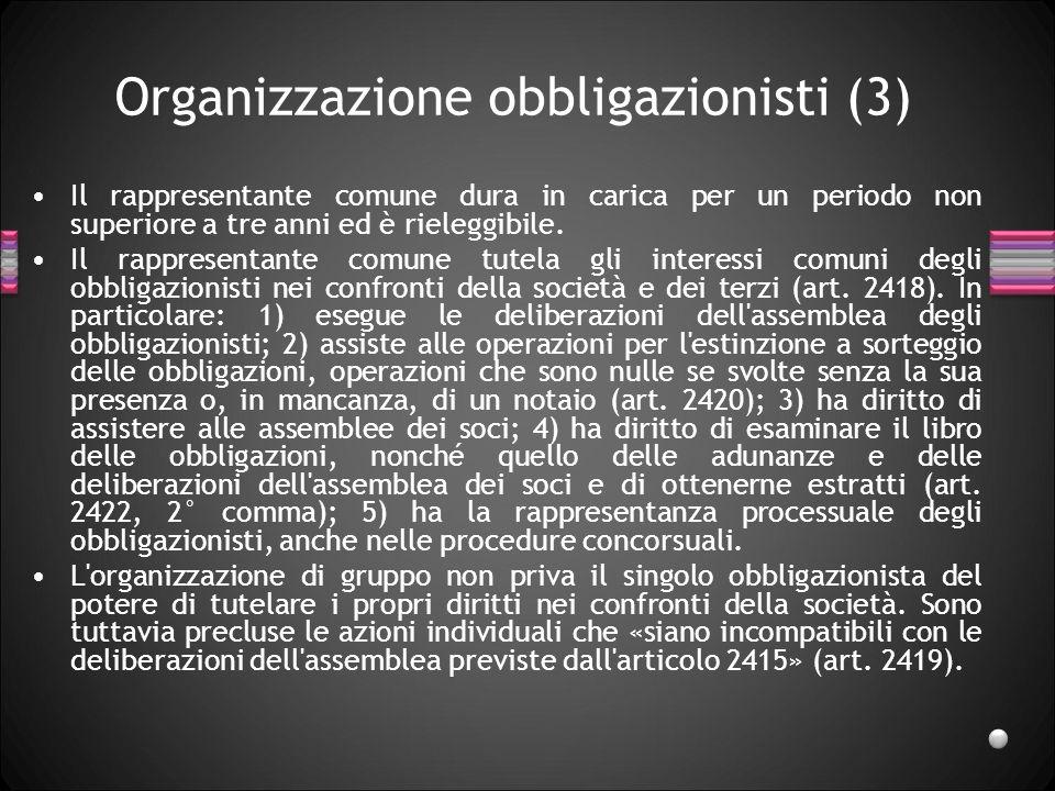Organizzazione obbligazionisti (3)