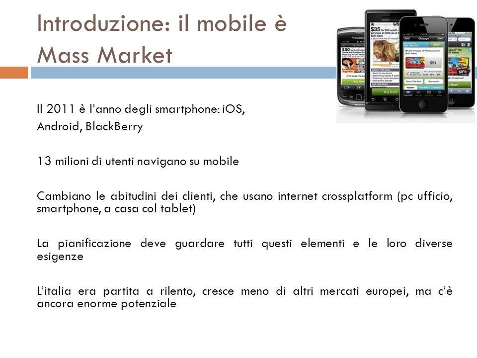 Introduzione: il mobile è Mass Market