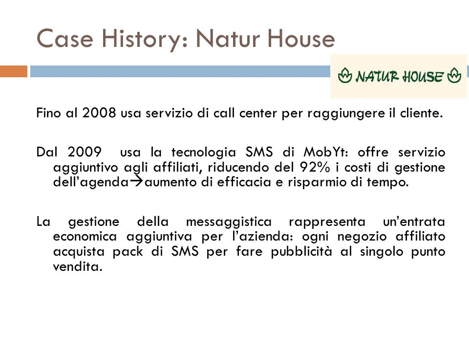 Case History: Natur House