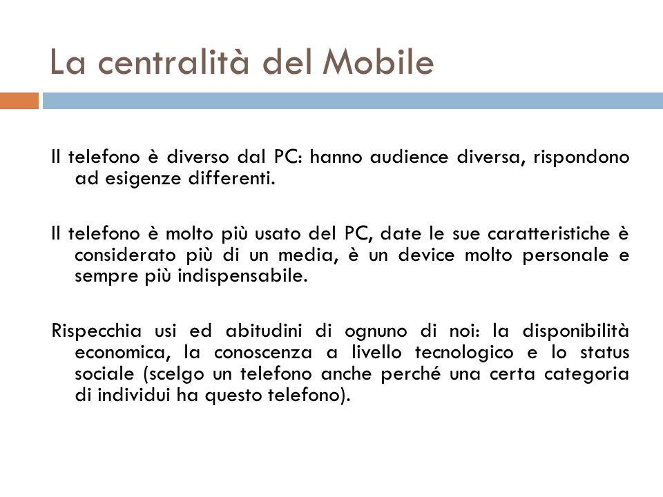 La centralità del Mobile