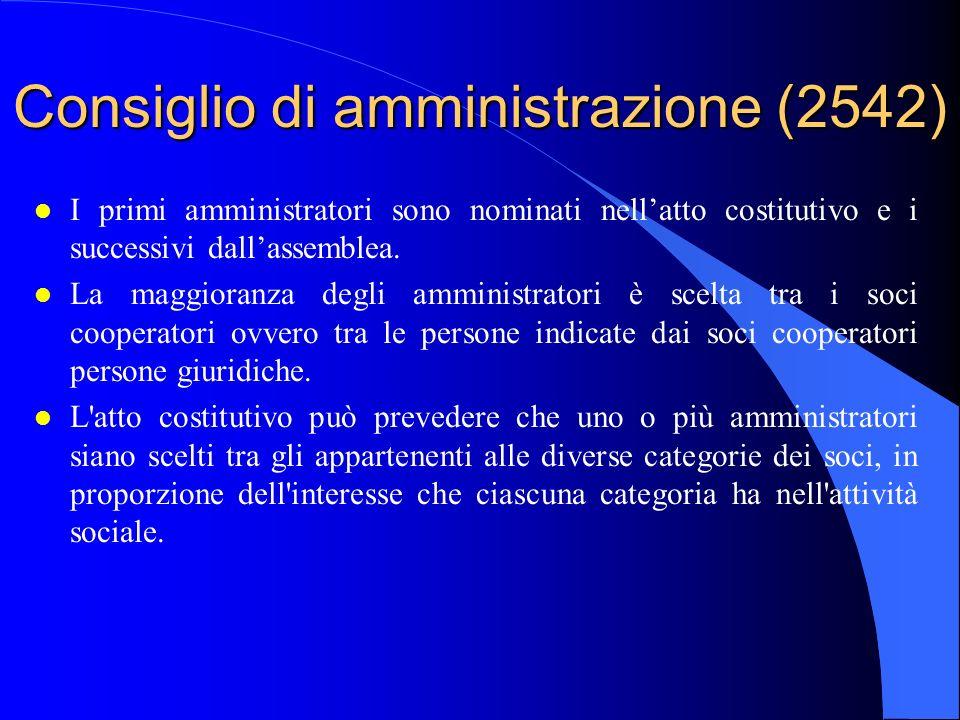 Consiglio di amministrazione (2542)