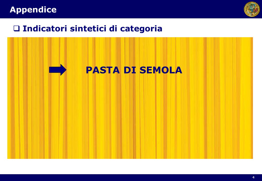 Indicatori sintetici di categoria