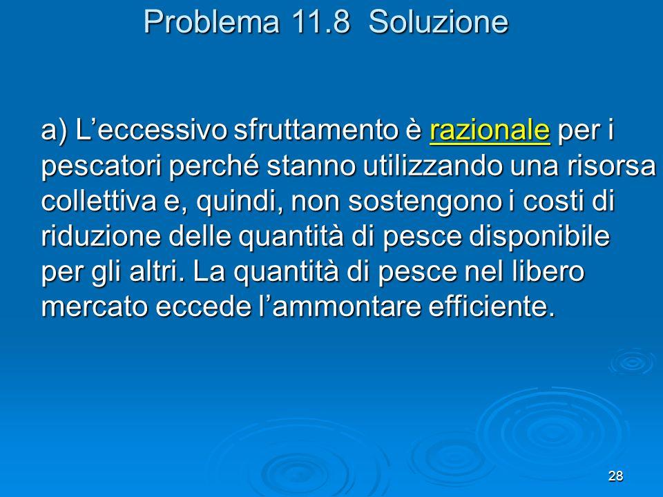 Problema 11.8 Soluzione