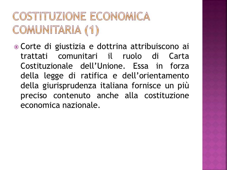 Costituzione economica comunitaria (1)