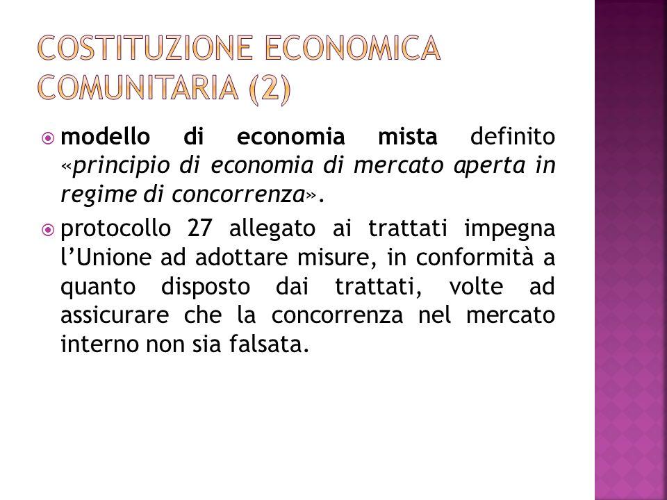 Costituzione economica comunitaria (2)