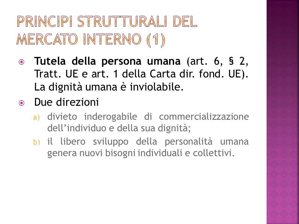 Principi strutturali del mercato interno (1)