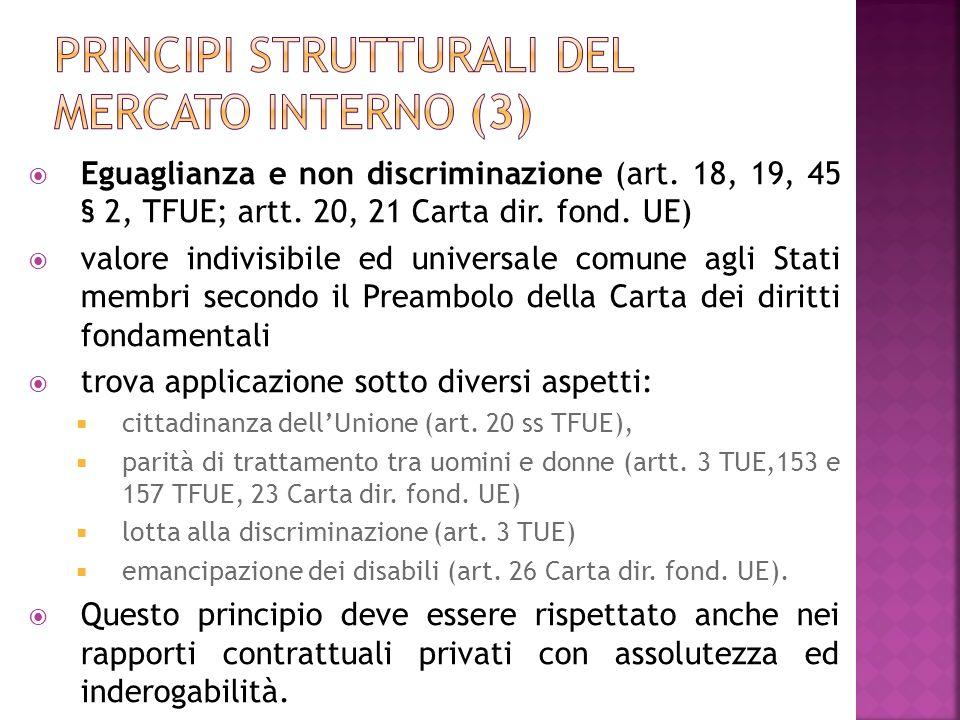 Principi strutturali del mercato interno (3)