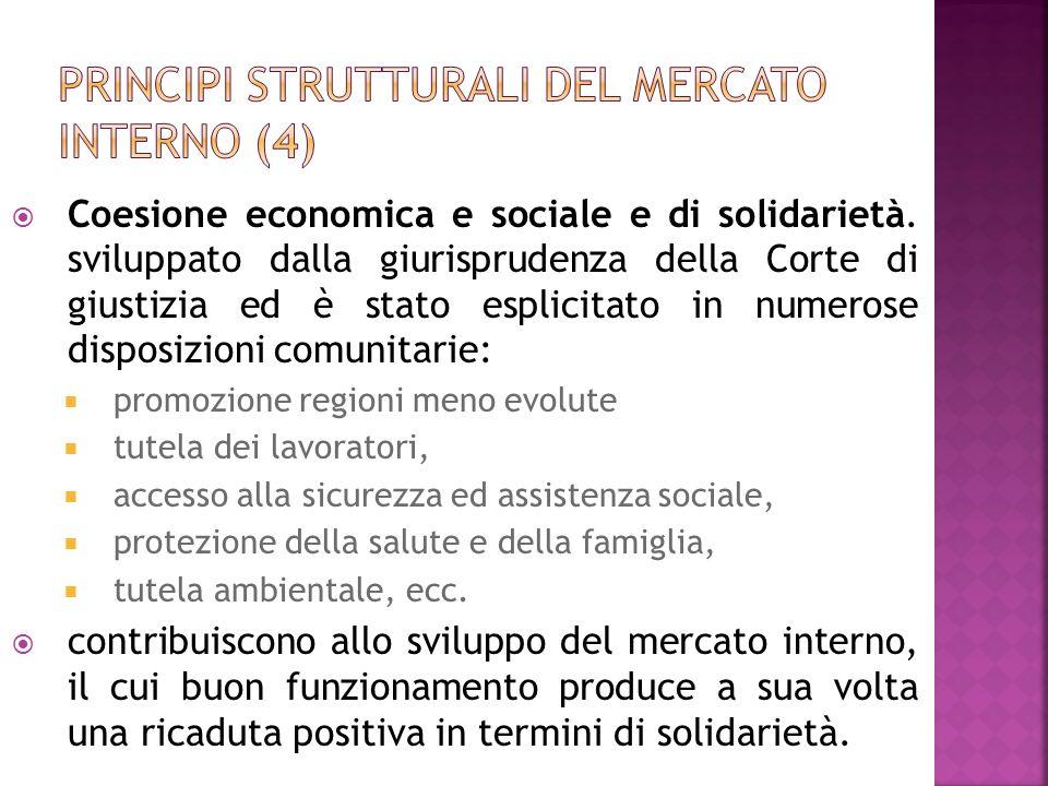 Principi strutturali del mercato interno (4)
