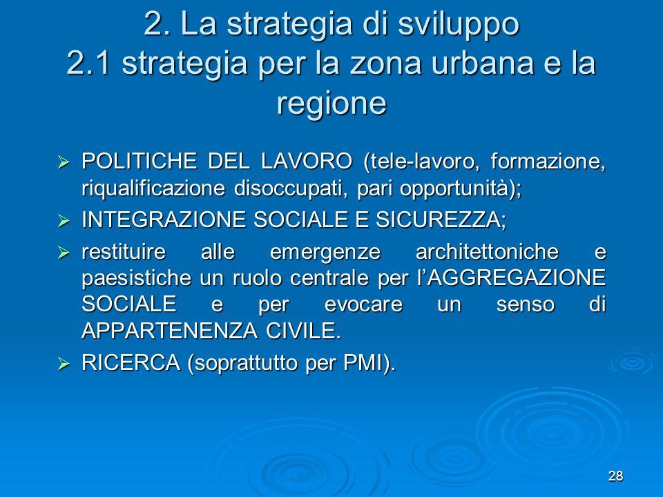 2. La strategia di sviluppo 2