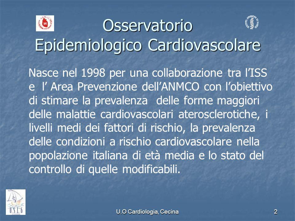 Osservatorio Epidemiologico Cardiovascolare