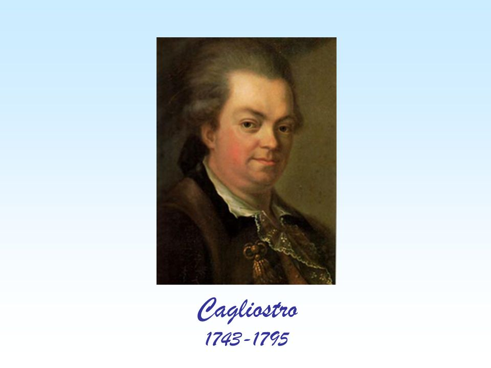 Cagliostro 1743-1795