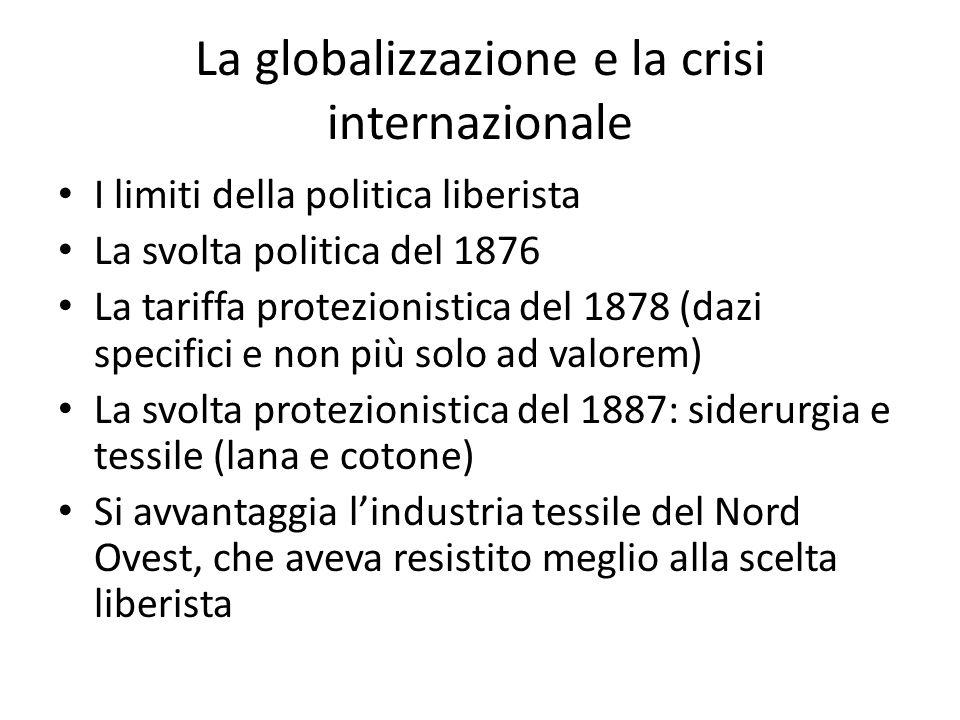La globalizzazione e la crisi internazionale