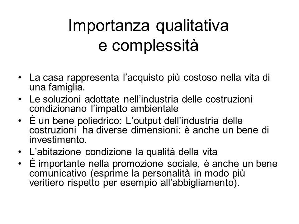 Importanza qualitativa e complessità
