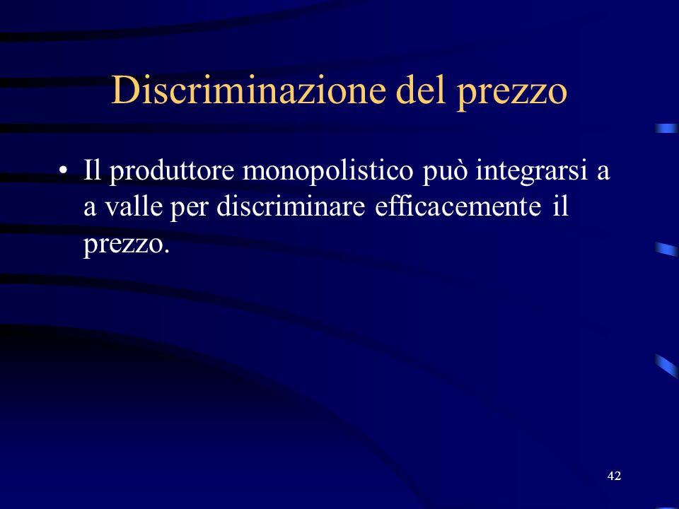 Discriminazione del prezzo