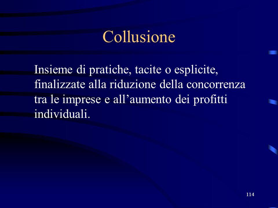 27/03/2017 Collusione.