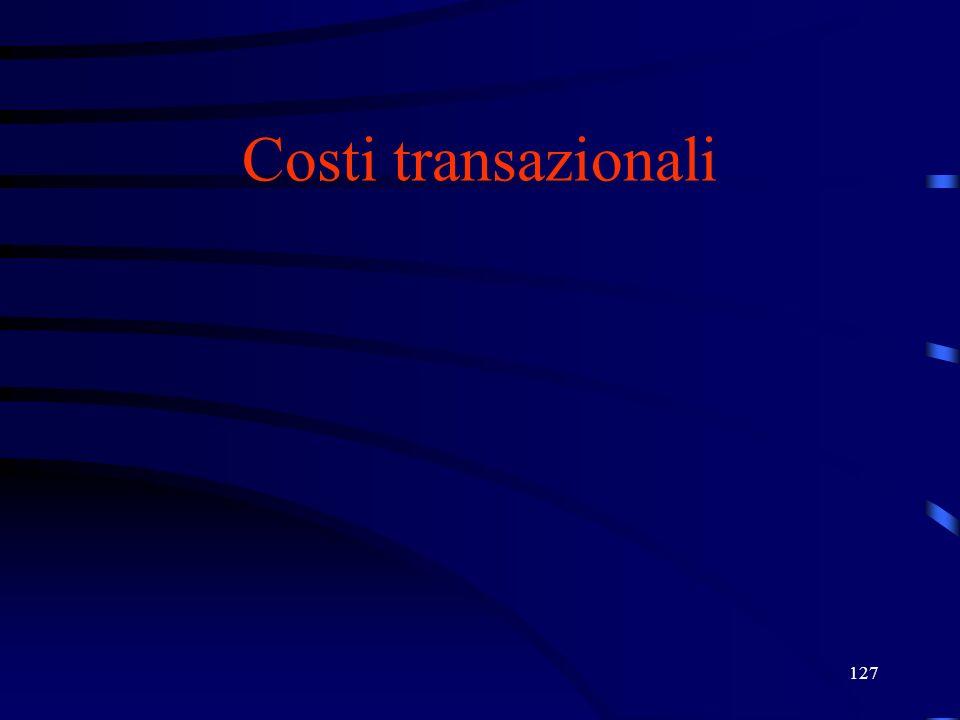 27/03/2017 Costi transazionali