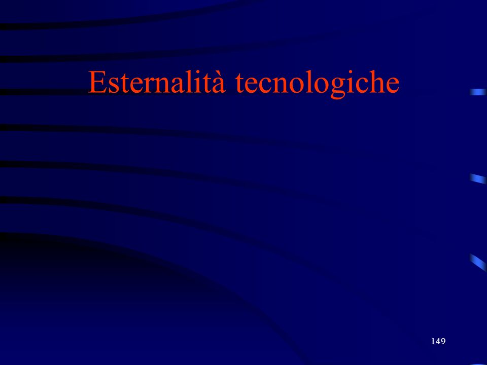 Esternalità tecnologiche