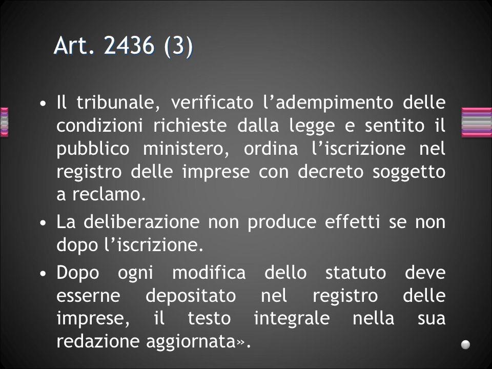 Art. 2436 (3)