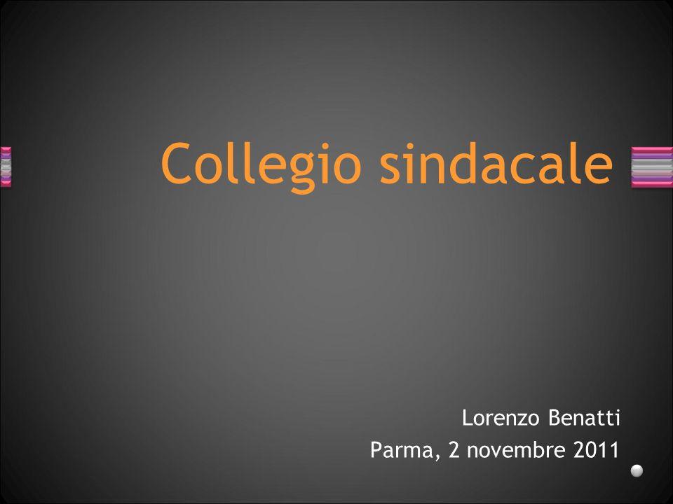 Lorenzo Benatti Parma, 2 novembre 2011