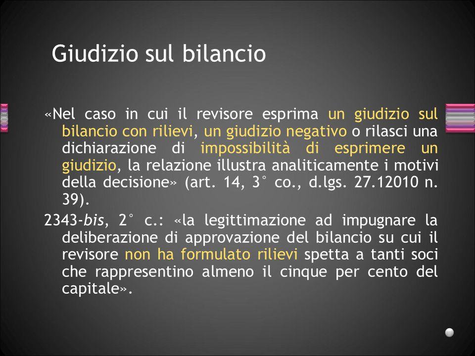 27/03/2017 Giudizio sul bilancio.