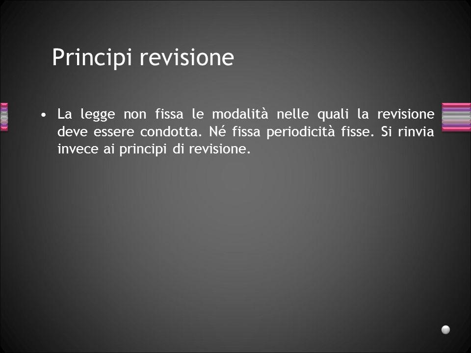 Principi revisione