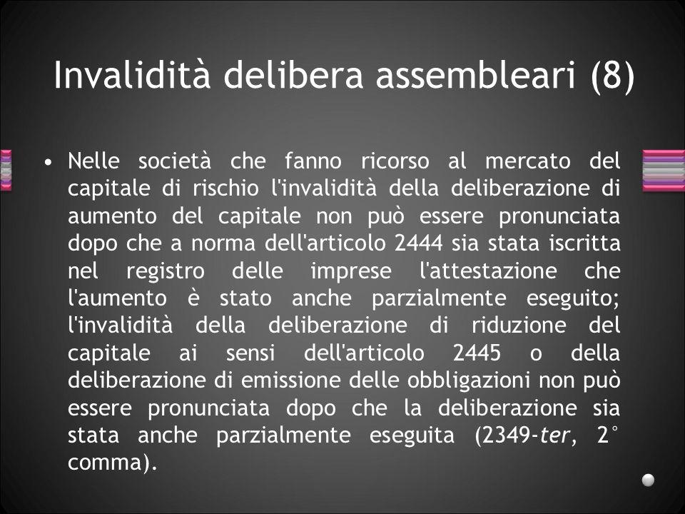 Invalidità delibera assembleari (8)