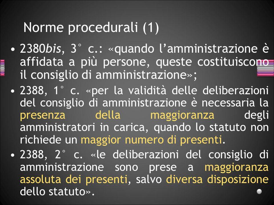 27/03/2017 Norme procedurali (1)