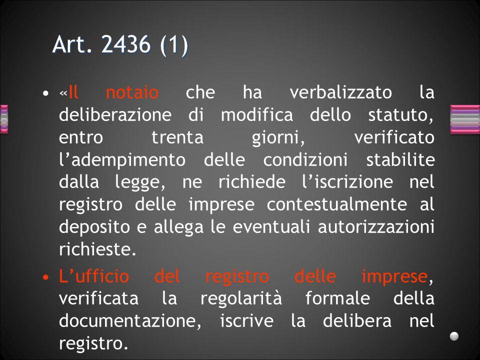 Art. 2436 (1)