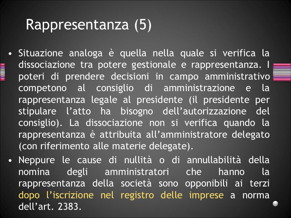 Rappresentanza (5)