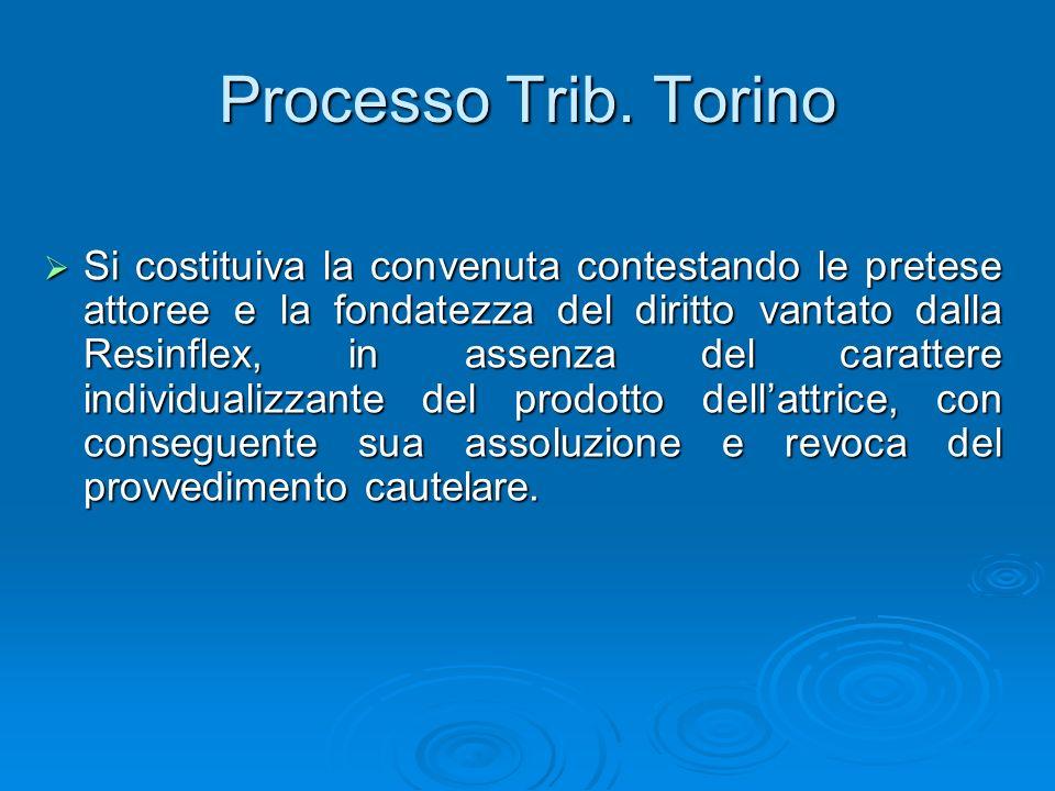 Processo Trib. Torino