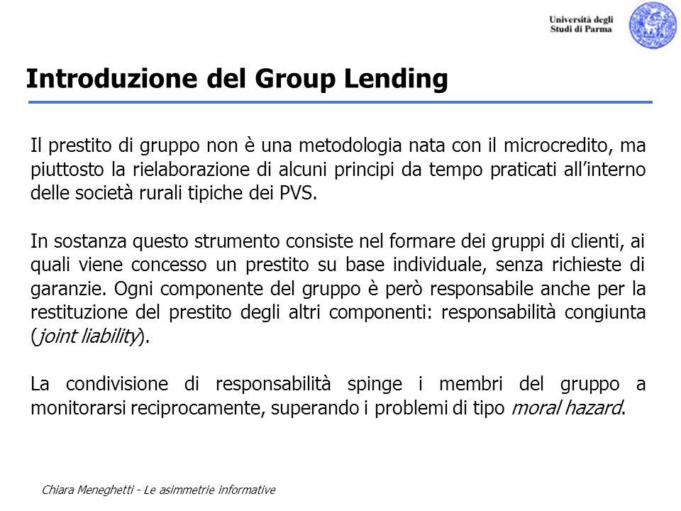 Introduzione del Group Lending