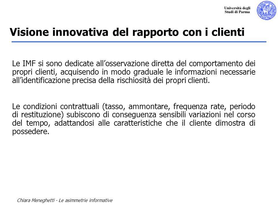 Visione innovativa del rapporto con i clienti