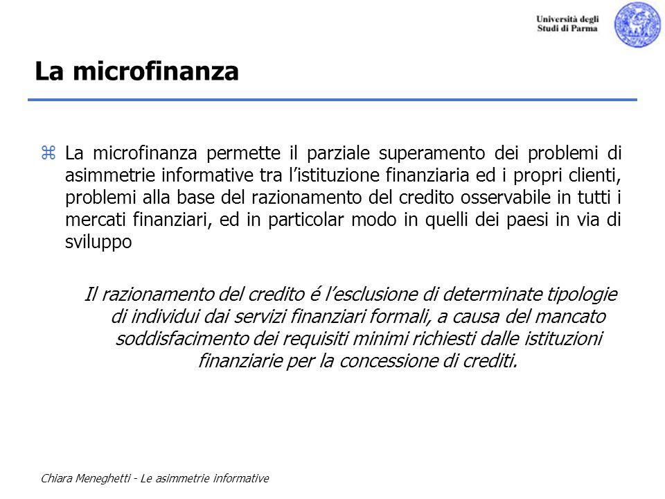 La microfinanza