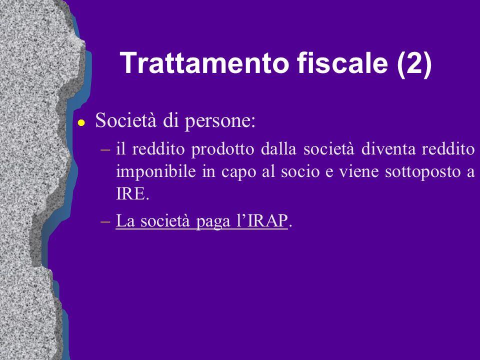 Trattamento fiscale (2)