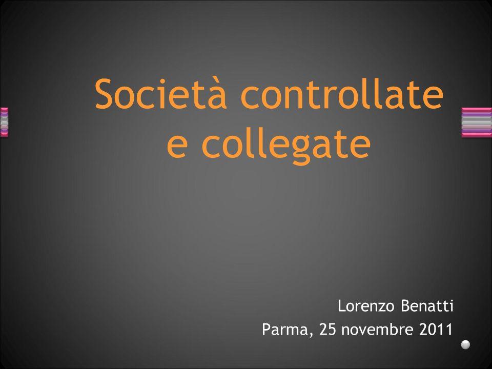 Lorenzo Benatti Parma, 25 novembre 2011