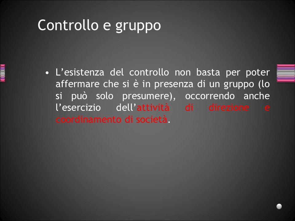 Controllo e gruppo