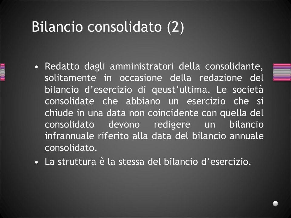 Bilancio consolidato (2)