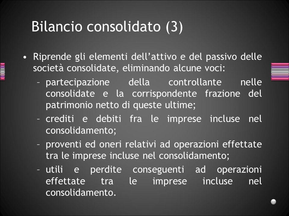 Bilancio consolidato (3)