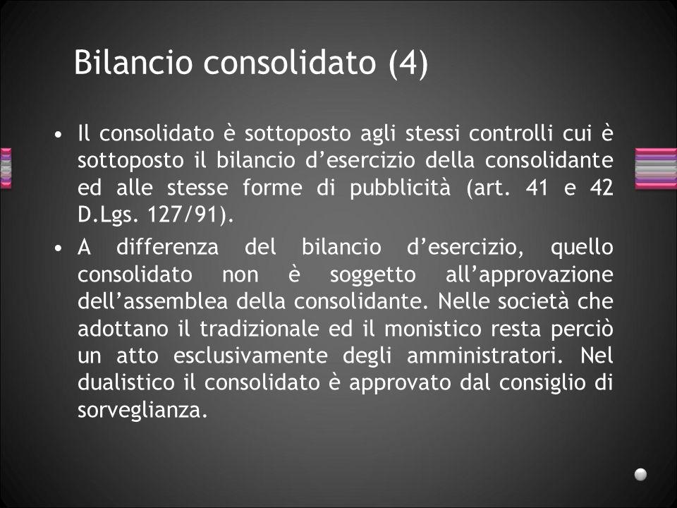 Bilancio consolidato (4)