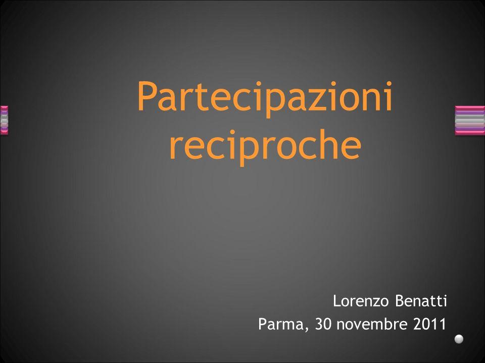 Lorenzo Benatti Parma, 30 novembre 2011
