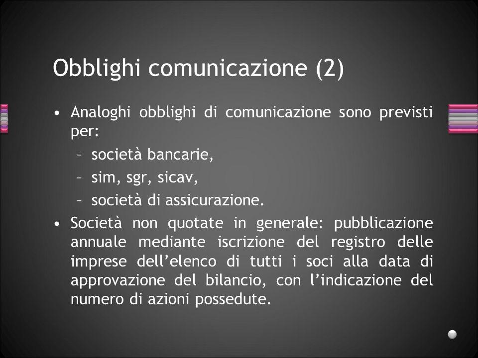 Obblighi comunicazione (2)