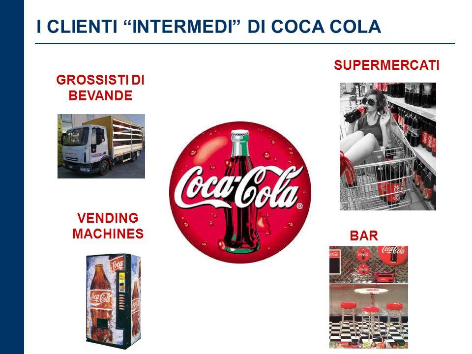 I CLIENTI INTERMEDI DI COCA COLA