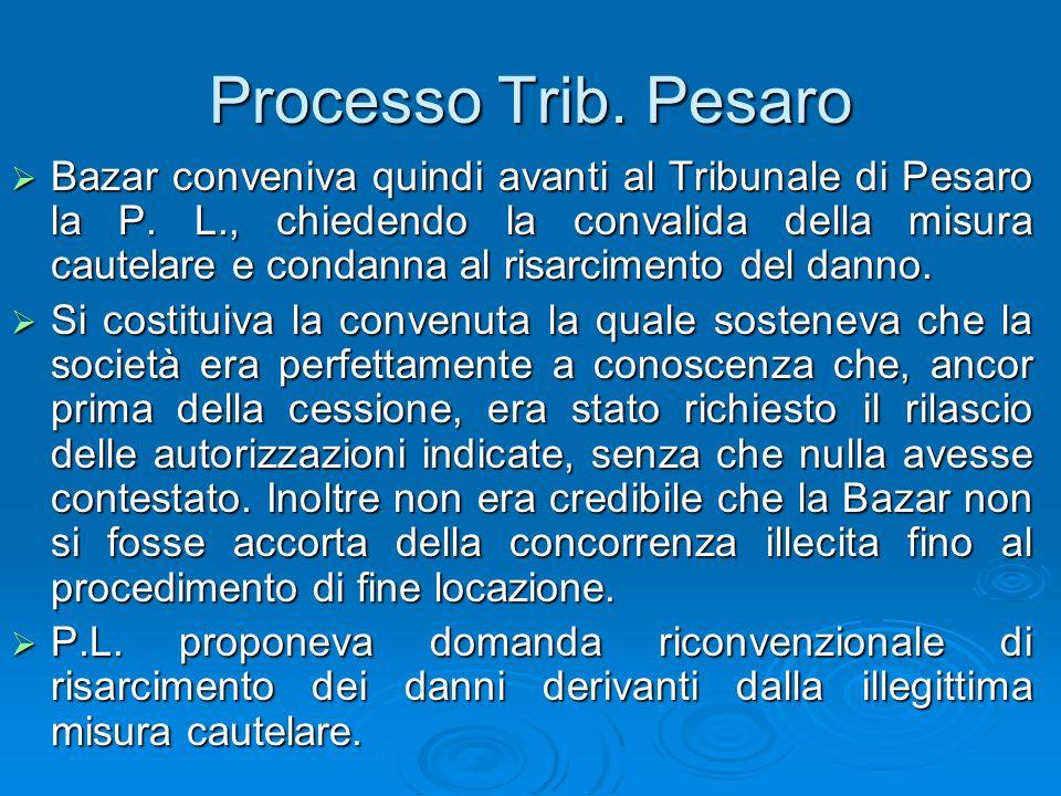 Processo Trib. Pesaro