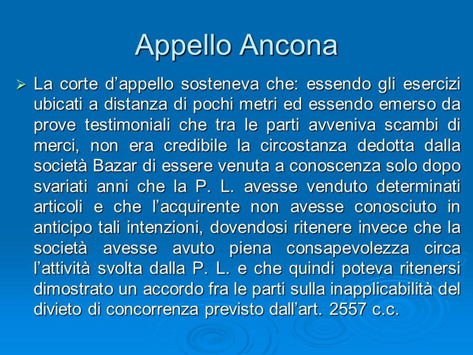 Appello Ancona