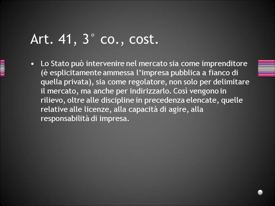 Art. 41, 3° co., cost.