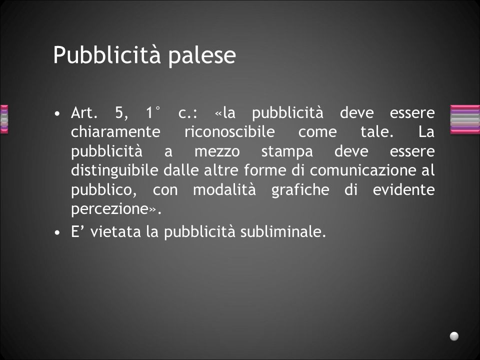 Pubblicità palese