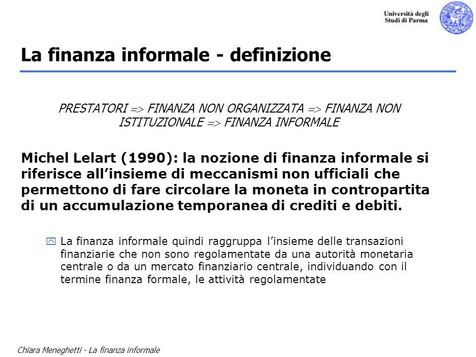La finanza informale - definizione