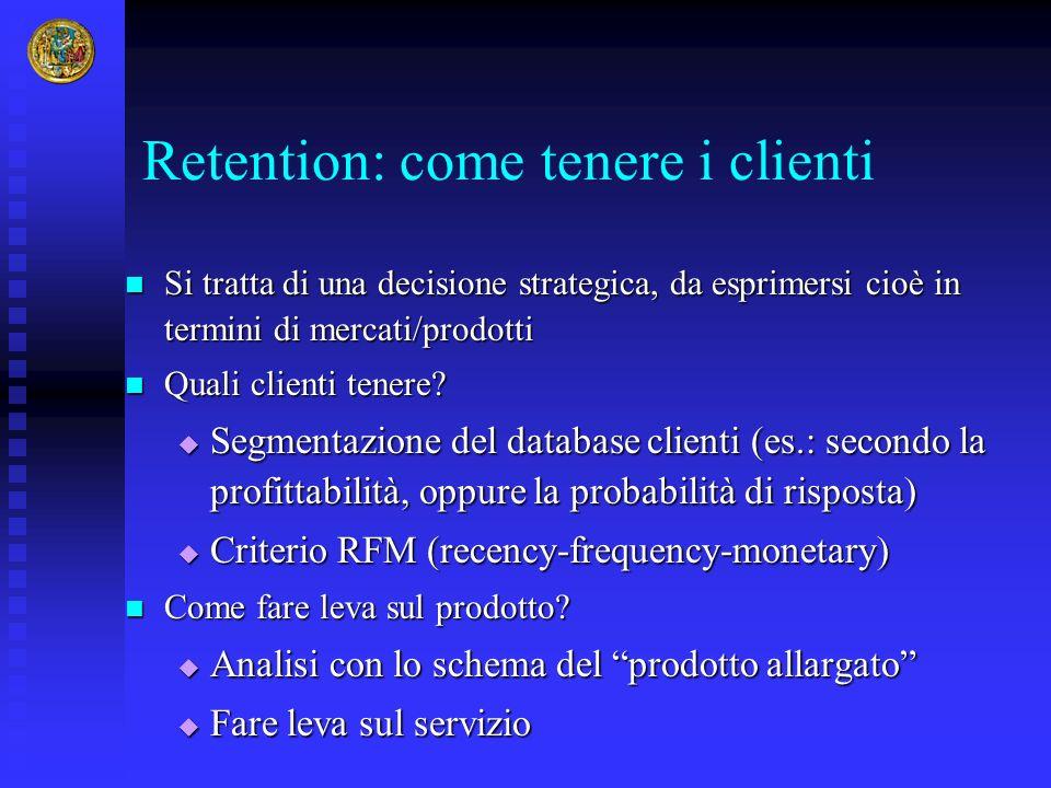 Retention: come tenere i clienti
