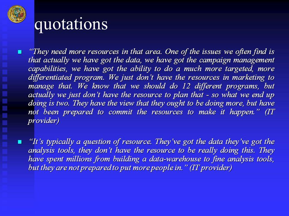 quotations