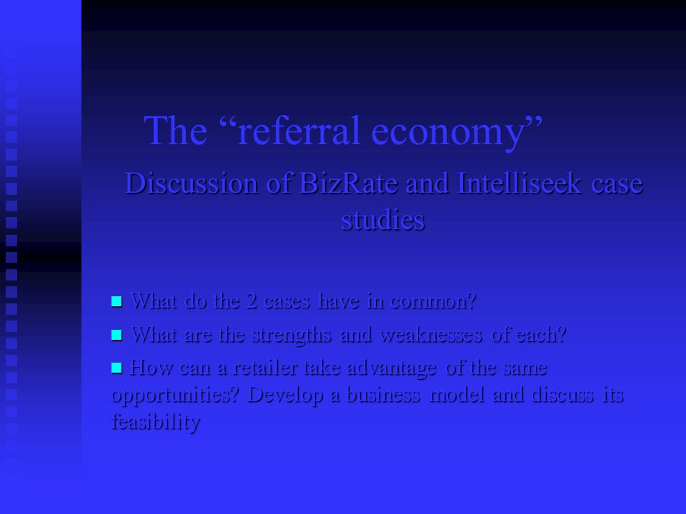 The referral economy